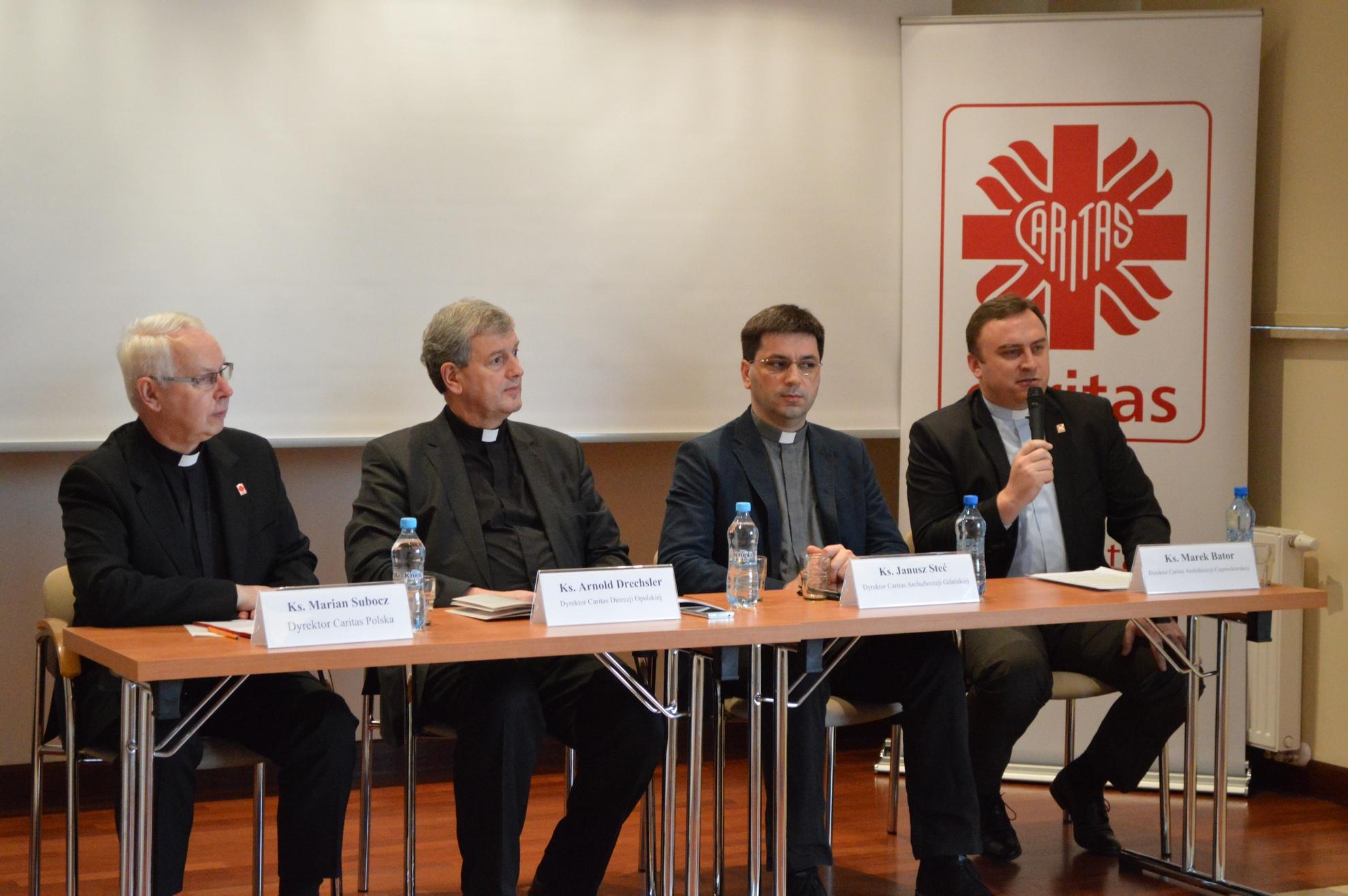 Rok Caritas - konferencja 14 stycznia 2015