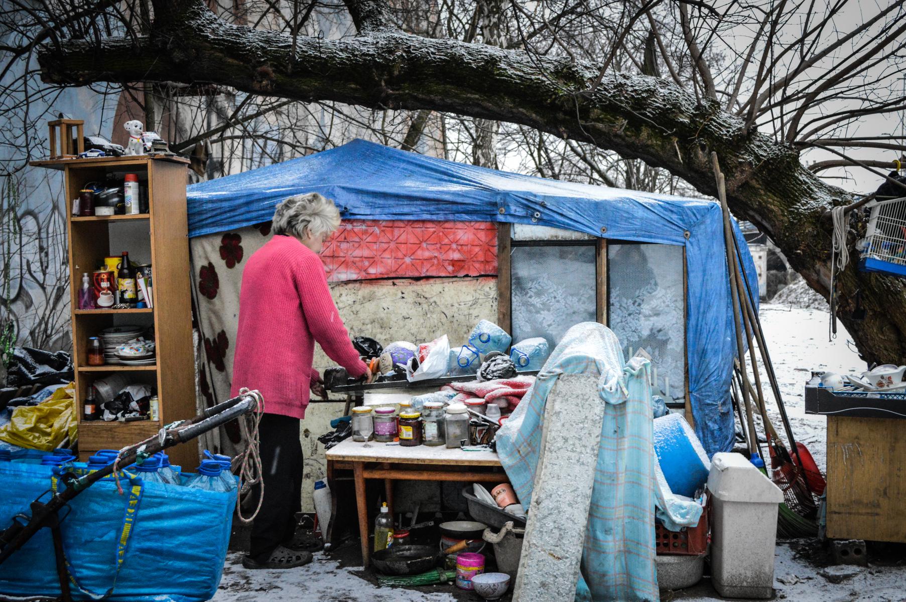 Pomoc bezdomnym Caritas