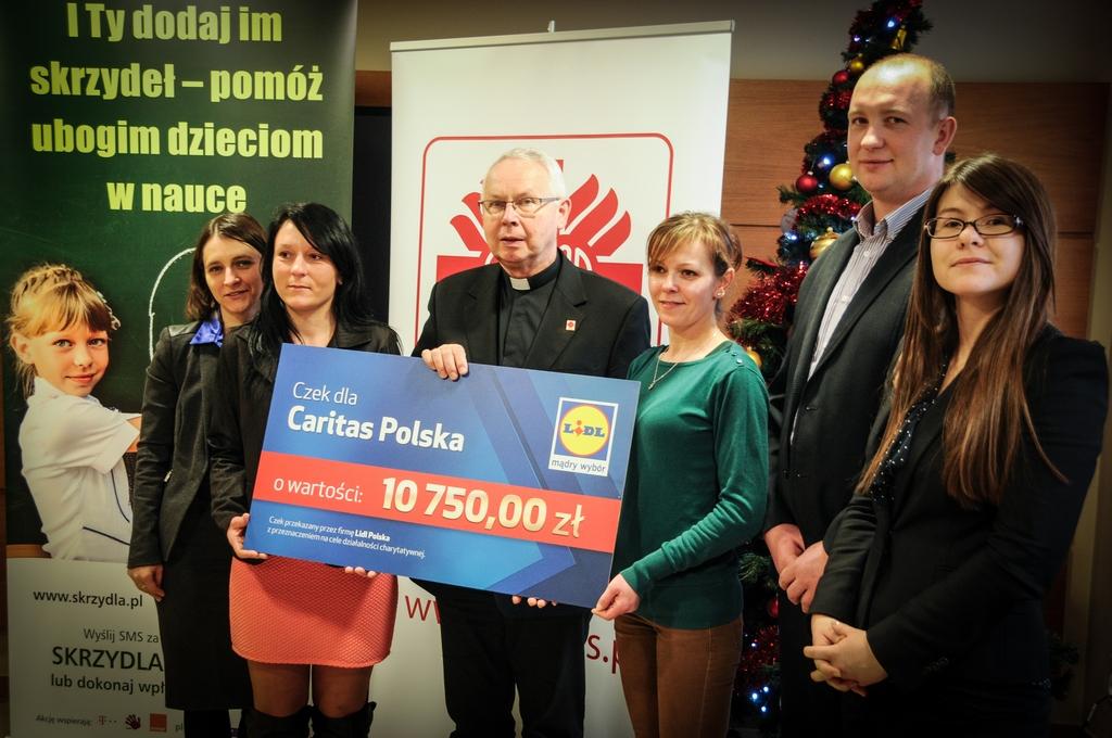Pracownicy Lidla wsparli Caritas Polska