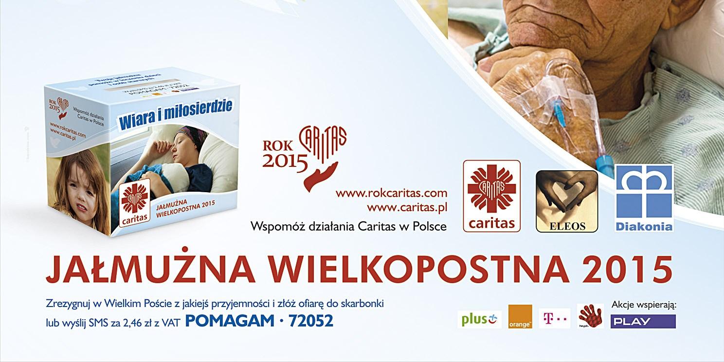 Jałmużna Wielkopostna Caritas 2015