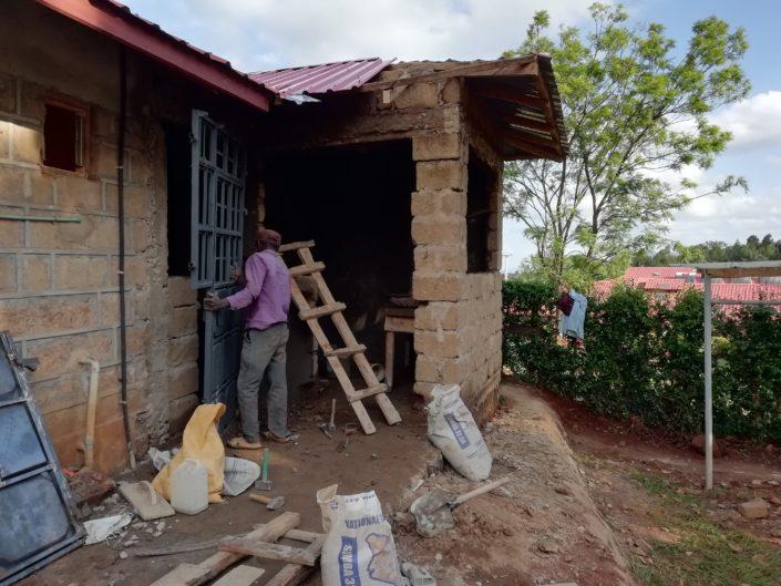 Budowa pralni w ośrodku zdrowia w Kenii