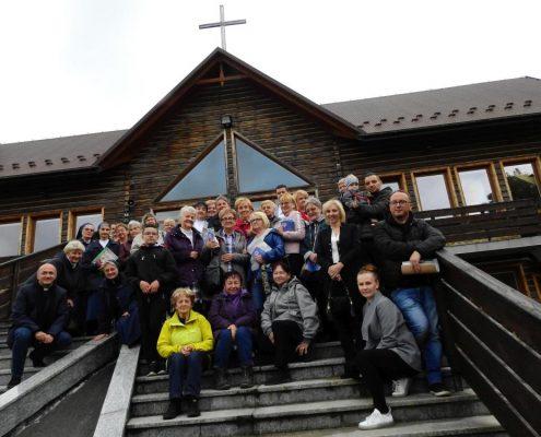 Wolontariusze krakowskiej Caritas na rekolekcjach